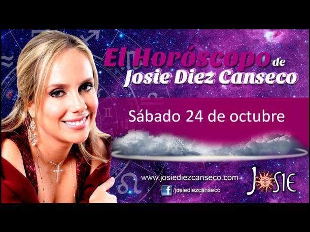 Josie Diez Canseco: Horóscopo del sábado 24 de octubre (VIDEO)