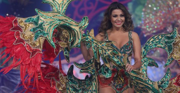 Miss Bolivia 2015 en el Reina Hispanoamericana
