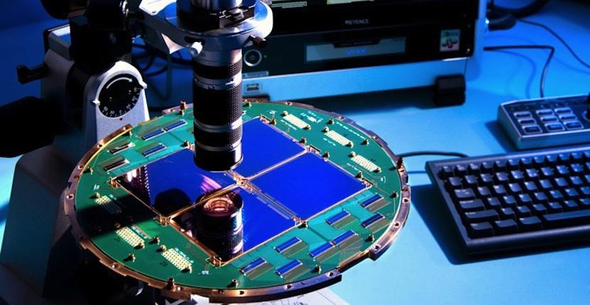 detector Consiguen introducir un detector de luz polarizada en un chip de silicio