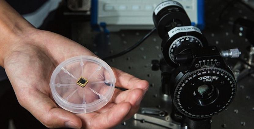 detector1 Consiguen introducir un detector de luz polarizada en un chip de silicio