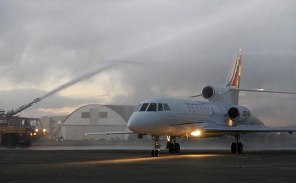 El SAE chileno opera en hangar de la FAB -   Archivo La Prensa