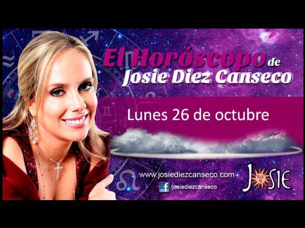 Josie Diez Canseco: Horóscopo del día 26 de octubre (VIDEO)