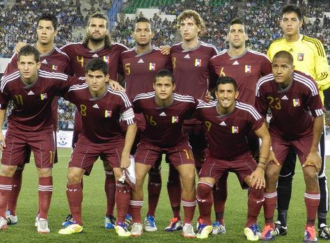 El seleccionado venezolano de fútbol. Foto: www.golcaracol.com
