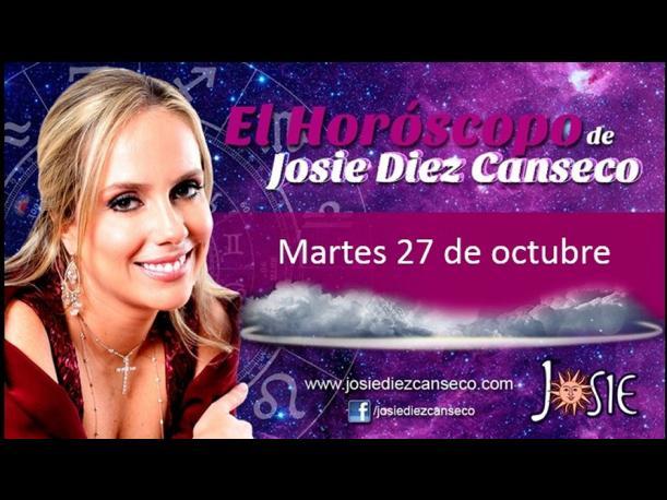 Josie Diez Canseco: Horóscopo del día 27 de octubre (FOTOS)