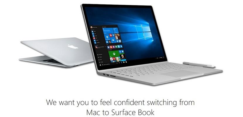 Surface Book1 Microsoft te anima una vez más a que cambies tu MacBook por un Surface Book
