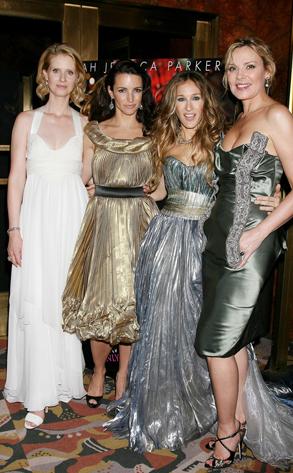 Cynthia Nixon, Kristin David, Sarah Jessica Parker, Kim Cattrall