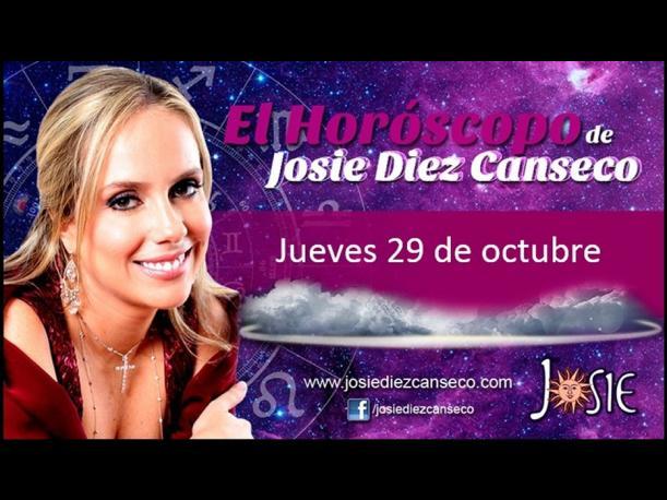 Josie Diez Canseco: Horóscopo del día 29 de octubre (FOTOS)