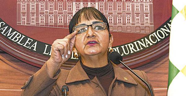 La senadora Carmen Eva Gonzales pedirá un informe