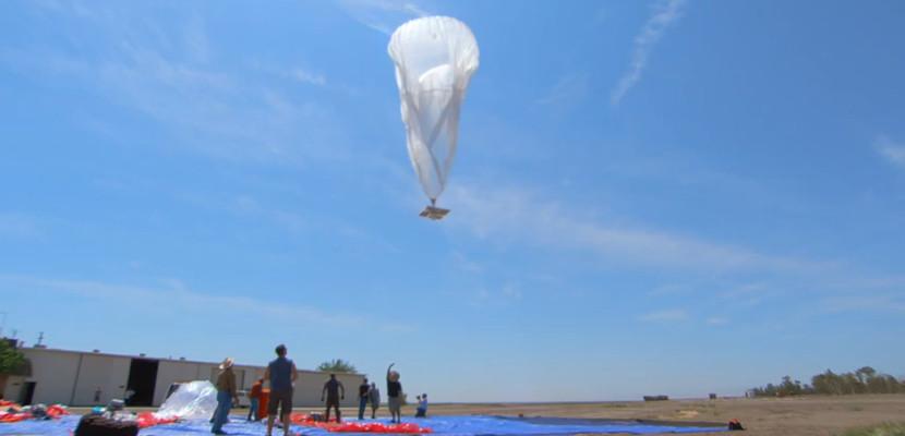 loon proyecto google globos El Proyecto Loon estará por todo el mundo en 2016