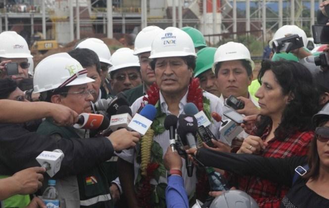 El Presidente Morales dice que las consultas previas perjudican