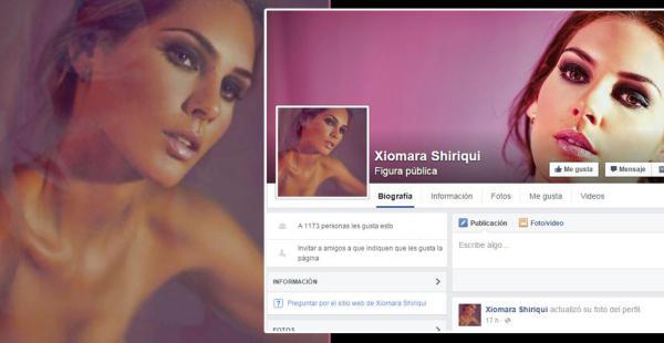 Xiomara Shiriqui ya tiene su página de Figura pública