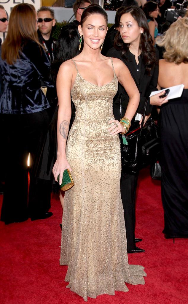 Megan Fox, Ralph Lauren, Golden Globes