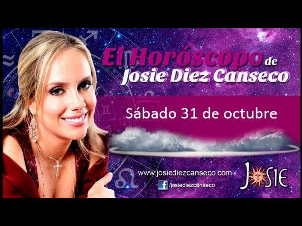 Josie Diez Canseco: Horóscopo del día 31 de octubre (VIDEO)