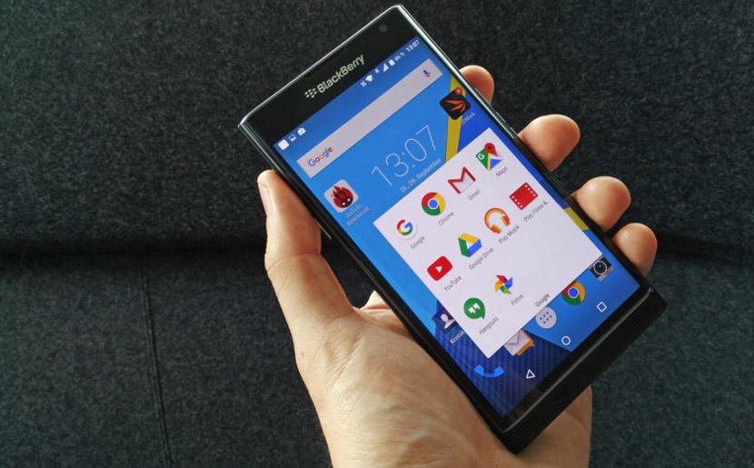 blackberry priv apps Primer unboxing del BlackBerry Priv