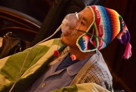 """""""Tengo más ganas de vivir, pero ya no puedo"""", dijo Gualberto Cusi"""