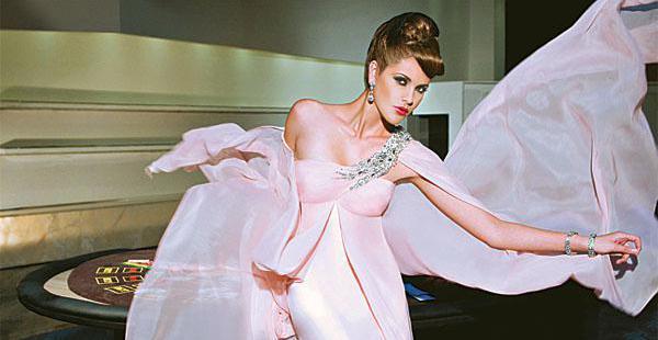 Ximena Ferrufino participó en varias versiones de Bolivia Moda, la Expocruz y otros eventos de modelaje