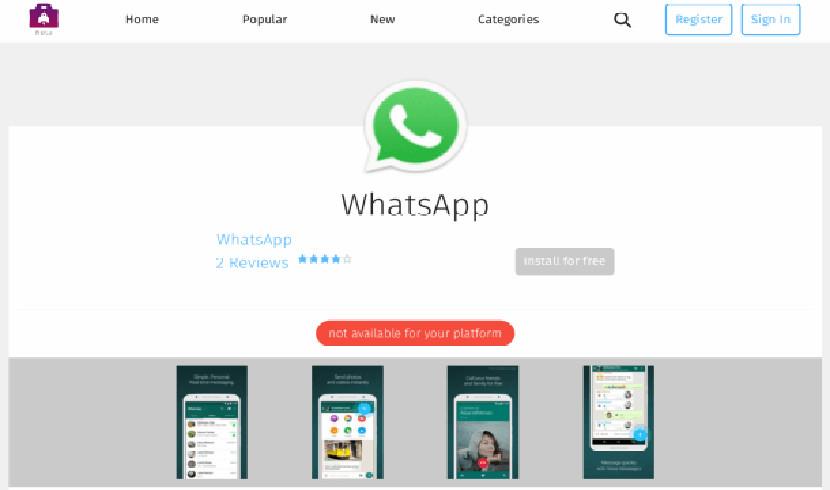 WhatsApp FirefoxOS Firefox OS finalmente tiene WhatsApp