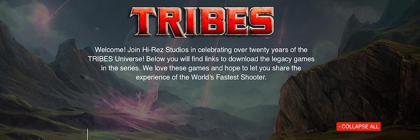 tribes Descarga la saga Tribes completamente gratis