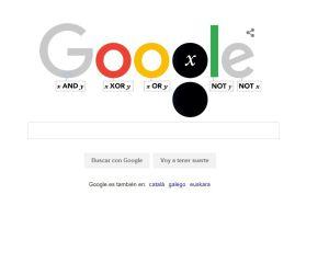 George Boole - Doodle de Google