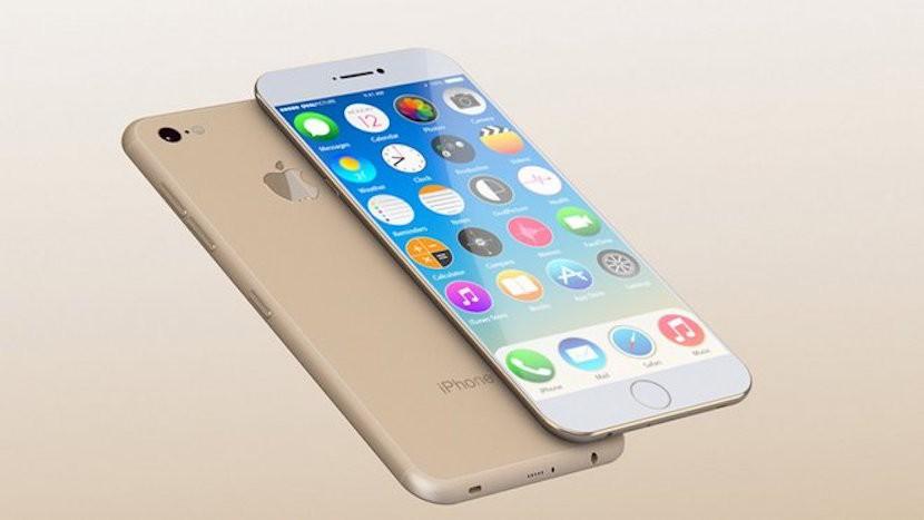 concepto iphone 7 El iPhone 7 tendrá 3 GB de memoria RAM