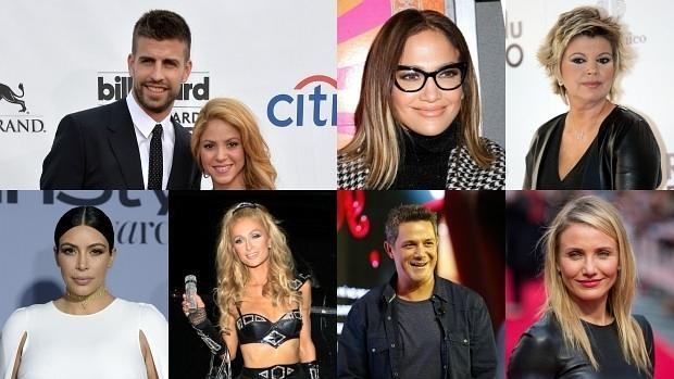 Shakira y Piqué, Jennifer Lopez, Terelu Campos, Kim Kardashian, Paris Hilton, Alejandro Sanz y Cameron Díaz han sido chantajeados con publicar videos de alto contenido sexual