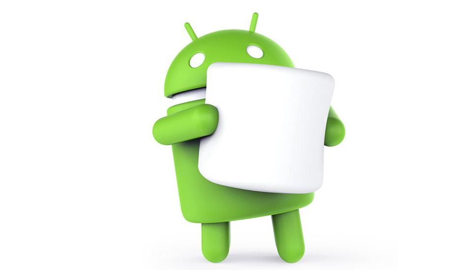 Marshmallow consigue colarse en menos del 1% de androides