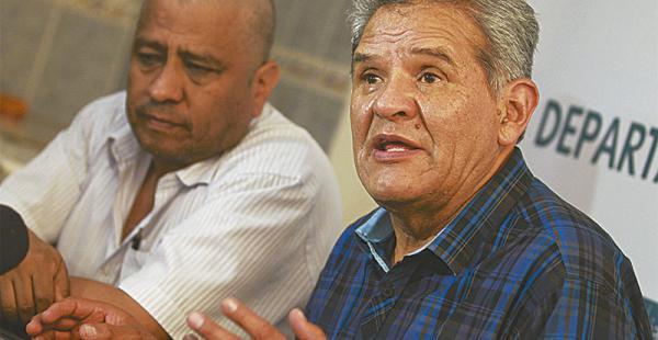 Rolando Villena denunció la falta de colaboración de las autoridades. El MAS lo acusa de hacer política