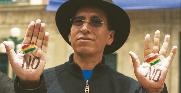 Suspendido y expuesto por el Gobierno por su enfermedad, Cusi decidió ir por el No a la reelección