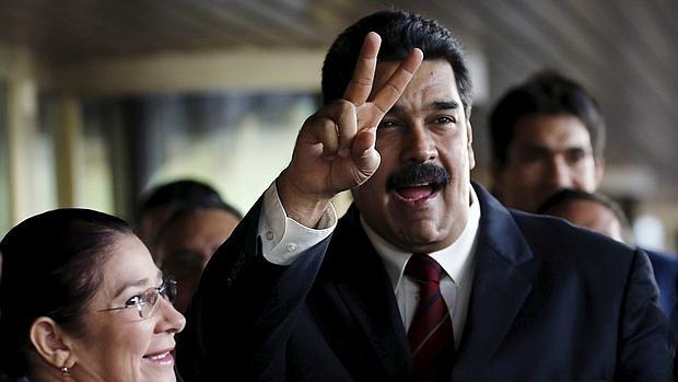 Maduro y su mujer llegan a la sede de la ONU en Ginebra