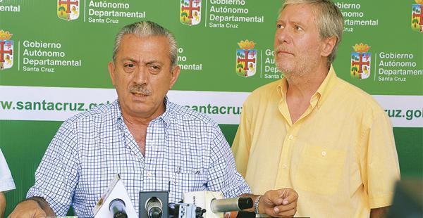 Óscar Urenda fue el encargado de realizar el anuncio público