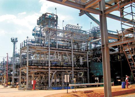 Campo. Margarita-Huacaya es uno de los mayores reservorios productores de gas y condensado.