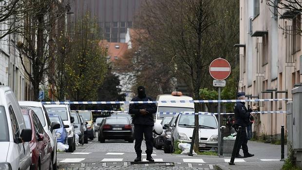 Operación policial en el barrio de Molenbeek