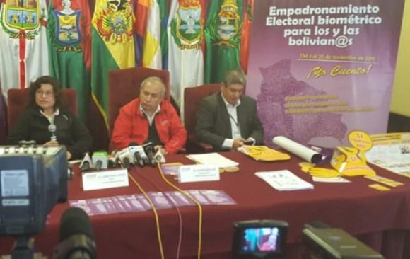 """TSE saca el Sí de la campaña de empadronamiento de 2014 y cambia su slogan por """"Yo cuento"""""""