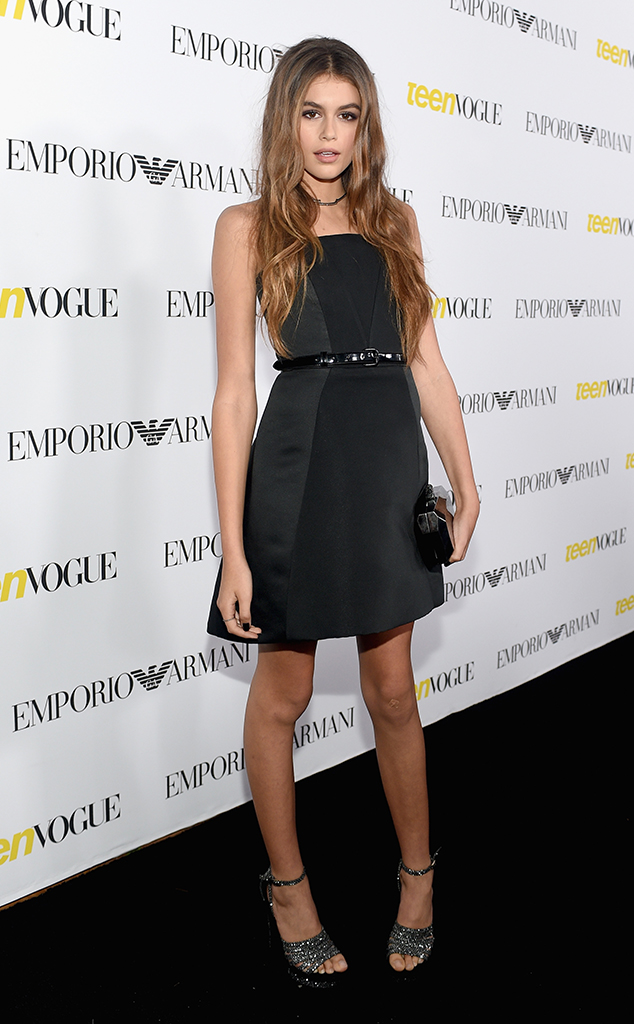 Kaia Gerber, Teen Vogue Event