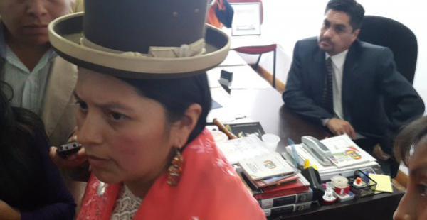La representante del Consejo de la Magistratura intervino las oficinas de la autoridad judicial que fue filmada.
