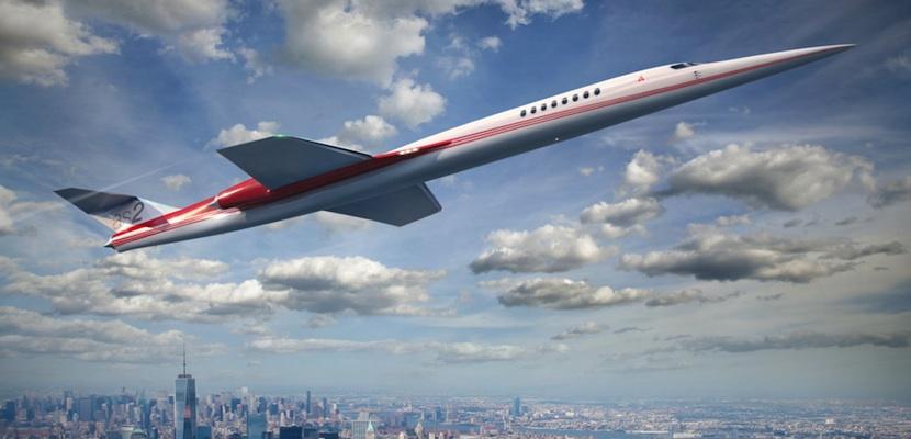 portada En 2023 llegará al mercado el primer jet supersónico privado