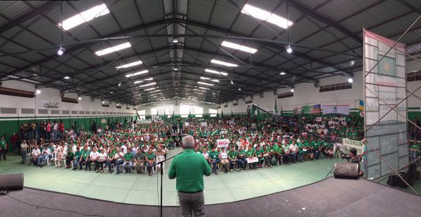 El congreso de Demócratas se desarrolla en el complejo Villa Rosita