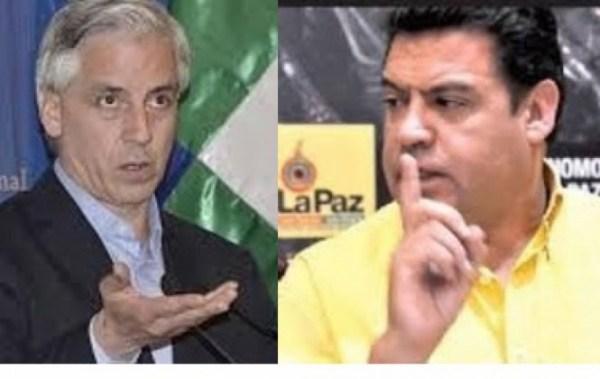 García Linera tilda al alcalde Revilla de flojo y la Alcaldía le responde que tiene una ejecución del 59%