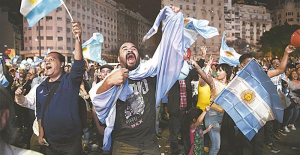 Los militantes de Cambiemos se volcaron a las calles de Buenos Aires