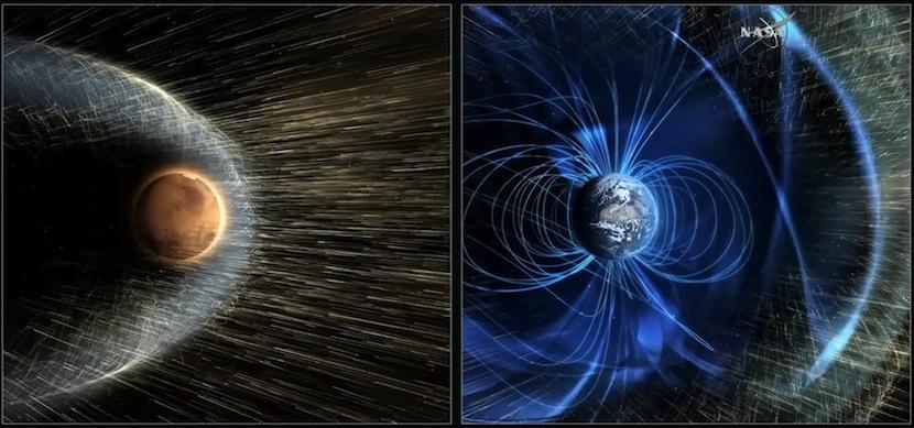 marte2 ¿Cómo pudo Marte perder su atmósfera y convertirse en un mundo frío y seco?