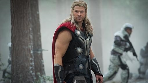 El actor en el papel de «Thor»