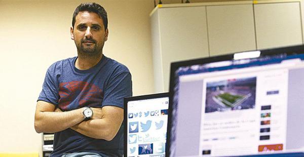 El uruguayo Diego Muñoz analizará el tema de las redes sociales como nueva plataforma del periodismo