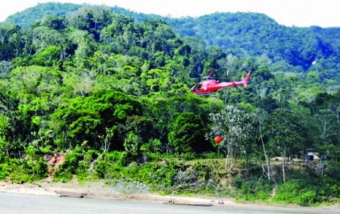 Evalúan daños del incendio en el Madidi, pero adelantan que el 60% de un cerro fue afectado