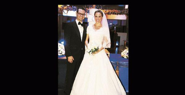 Nikomir Matkovic  con su esposa, Stephanie Antelo