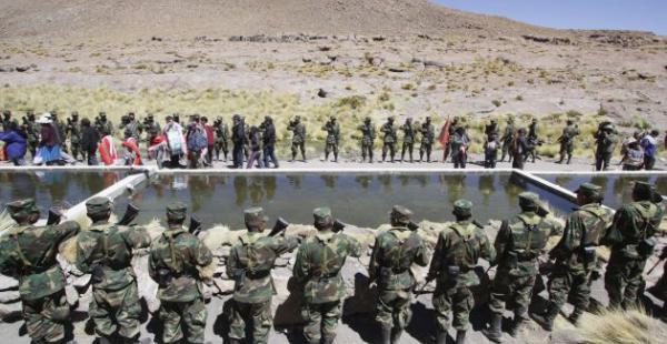 Autoridades recorrieron la zona y pobladores iniciaron la investigación para comprobar lo sucedido.