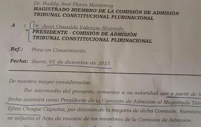 ¿Represalia en el TCP? Dos magistrados que viajaron a China le quitan a Valencia la presidencia de una Comisión