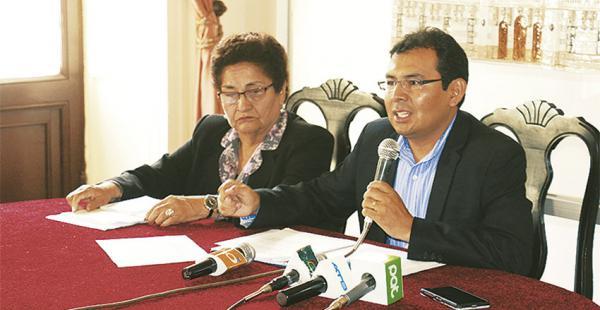La Gobernación presentó la denuncia ante el Ministerio Público
