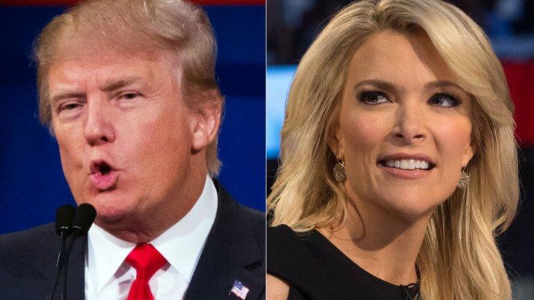 El magnate Donald Trump y la presentadoraMegyn Kelly