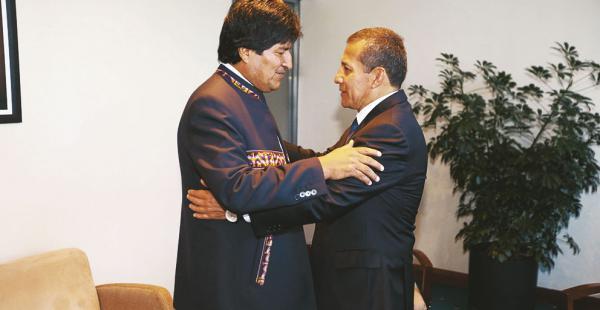 Los mandatarios de Bolivia y de Perú se reunieron en Quito