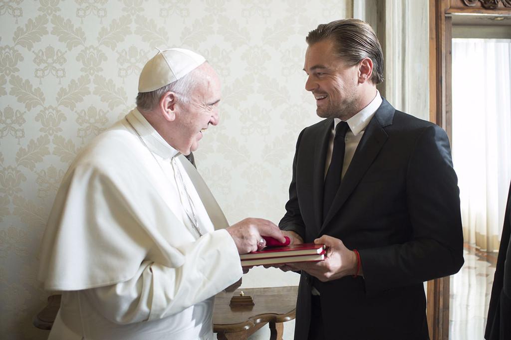 Leonardo DiCaprio, Pope Francis